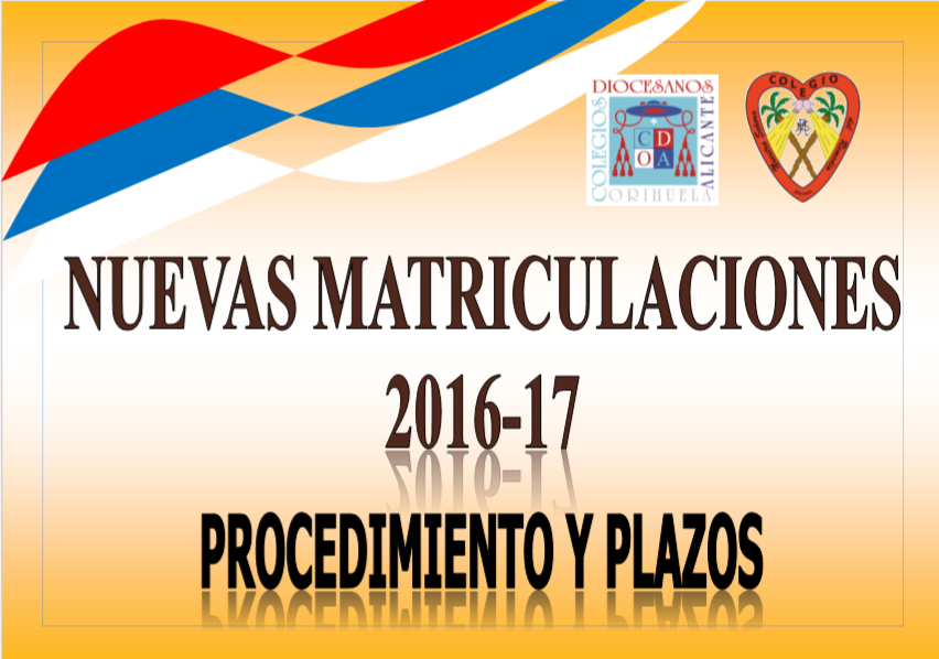 Matriculaciones Curso 2016-17
